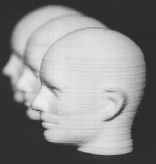 Three 50 mm tall alumina heads